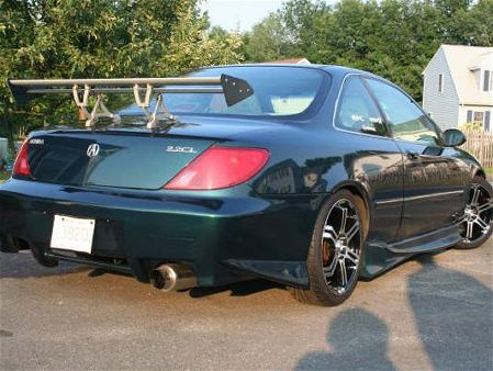2002 Acura on 2001  And It Replaces The Acura Cl Coupe  Which Had Lackluster