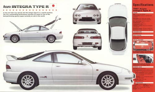 Acura Integra Parts Diagram